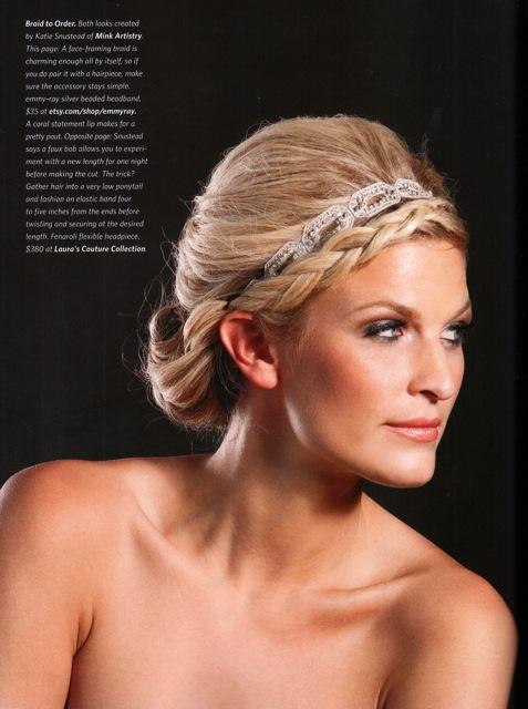 Headband, KC Weddings 2011
