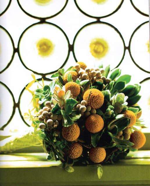 Succulent Bouquet, KC Weddings 2011