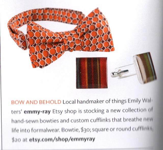 Bow ties, KC Weddings Magazine 2011