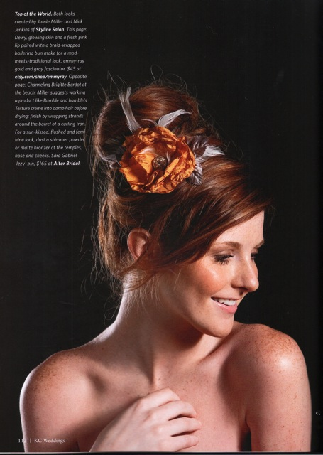 Fascinator, KC Weddings 2011