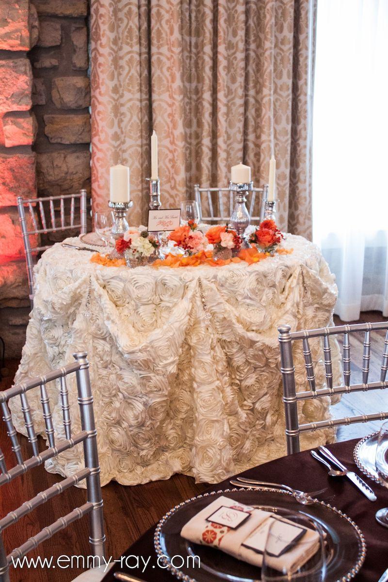 Ivory floral linen