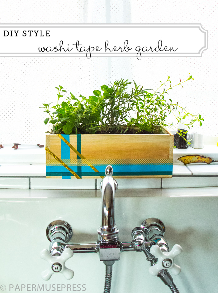 Washi-tape-herb-garden