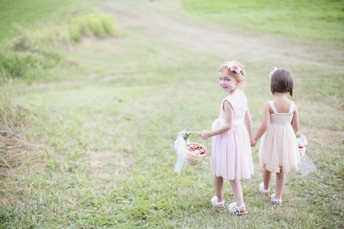 The cutest flower girls