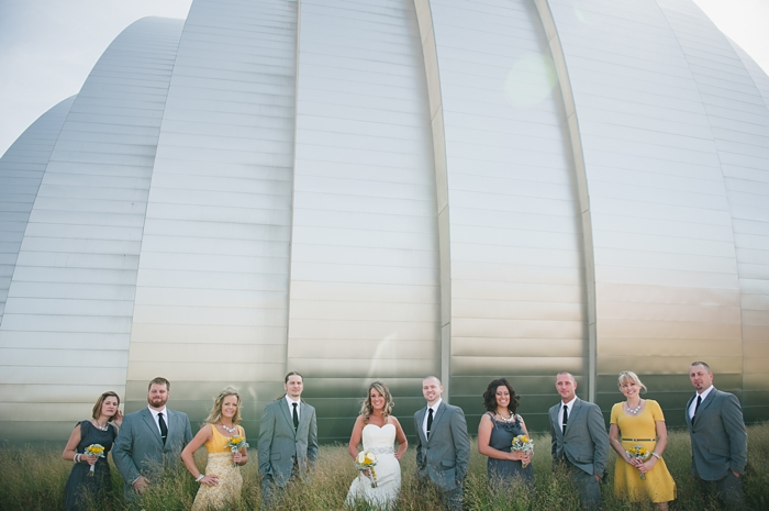 Real Kansas City wedding