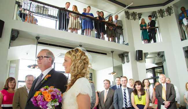 Ceremony at Amigoni Urban Winery