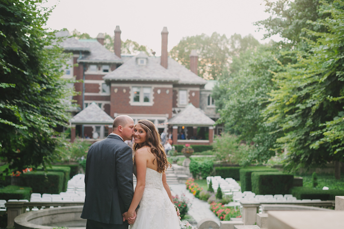 Vintage mansion wedding