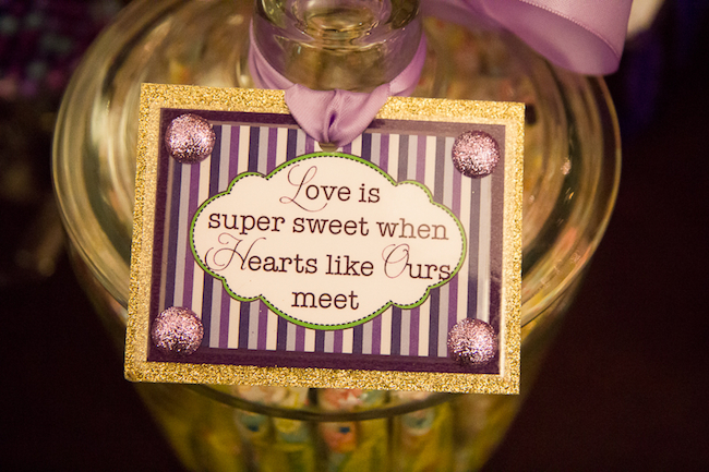 Candy favors for guests