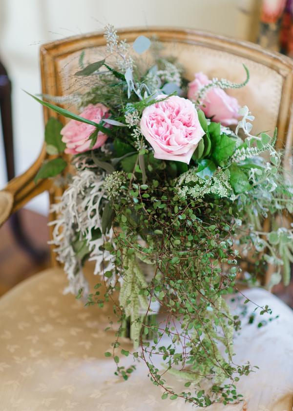 Beautiful wildflower bridal bouquet