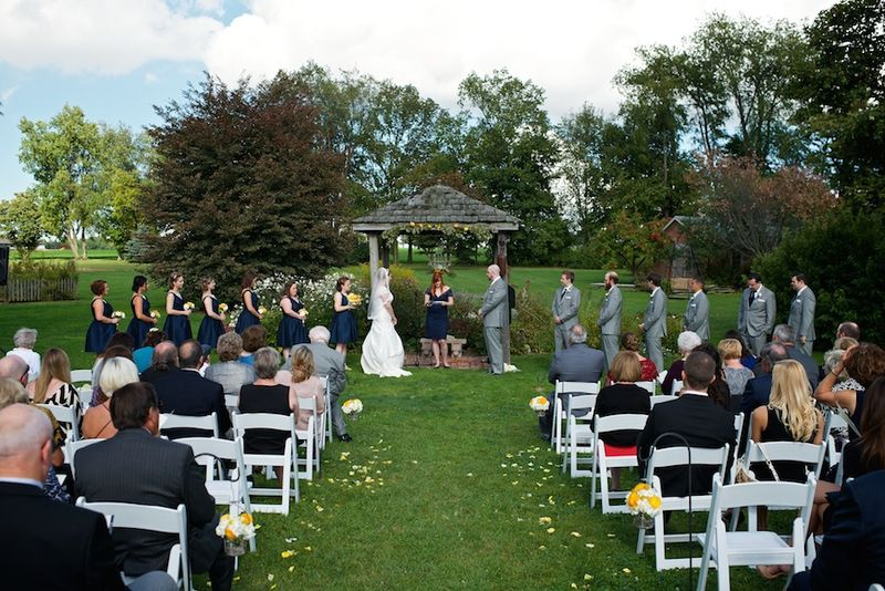 Real Ohio wedding