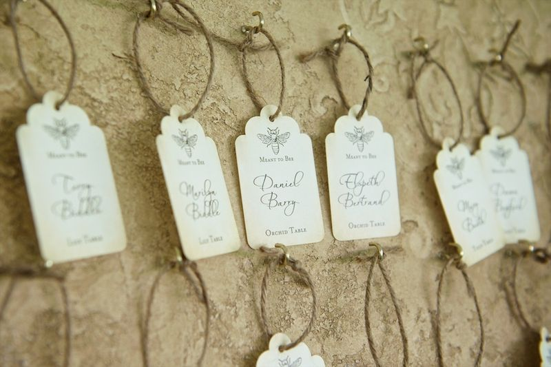 Meant to bee escort cards