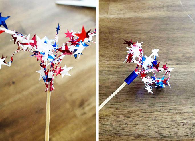 Firework-drink-flag