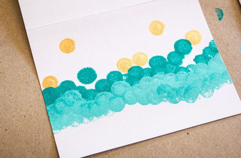 Ombre-polka-dots