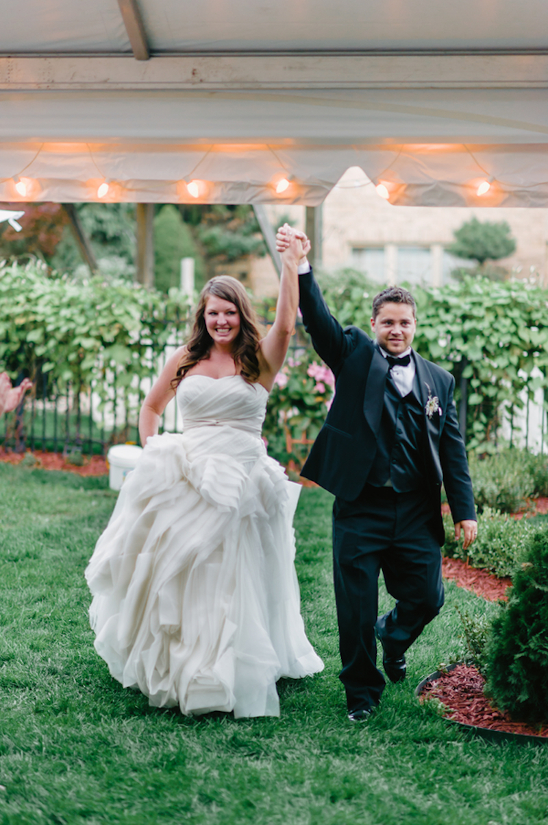 Stephanie and Benjamin, real Michigan wedding
