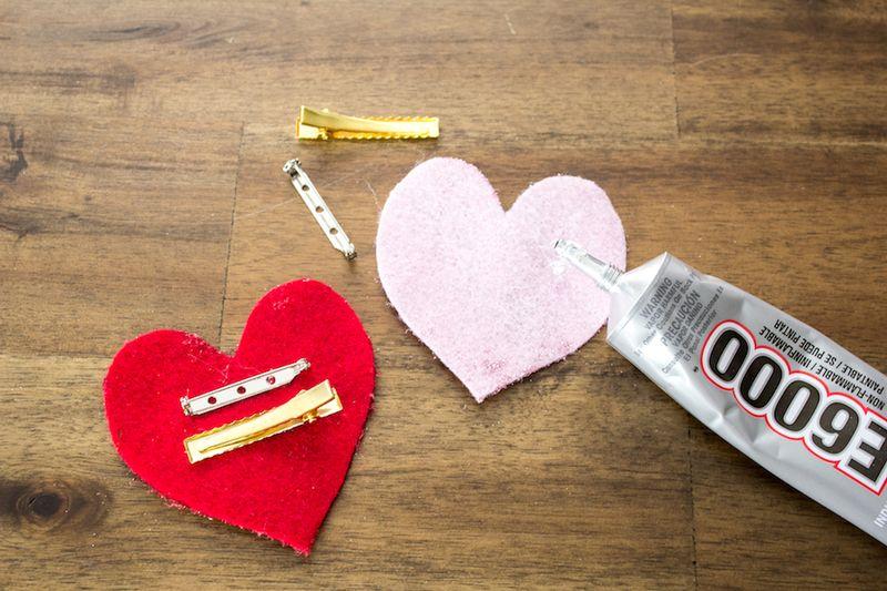 Glitter Heart Valentine DIY-7