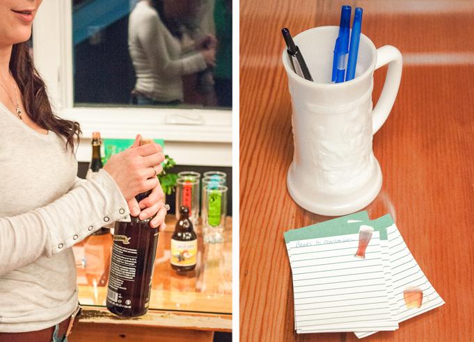 Milk-glass-beer-stein