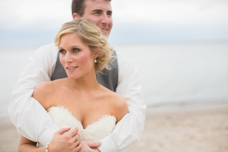 Beachy midwest wedding