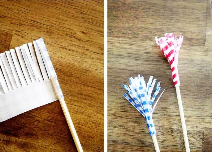 Paper-fringe-drink-flags