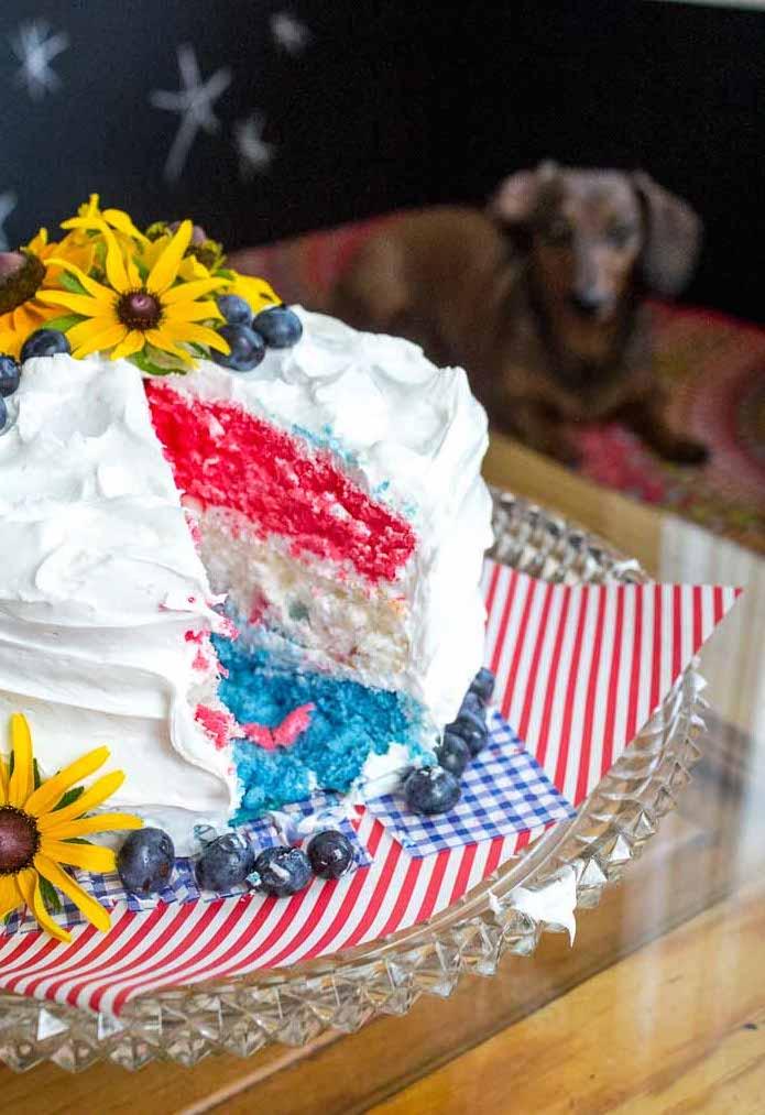Multi-color-layer-cake