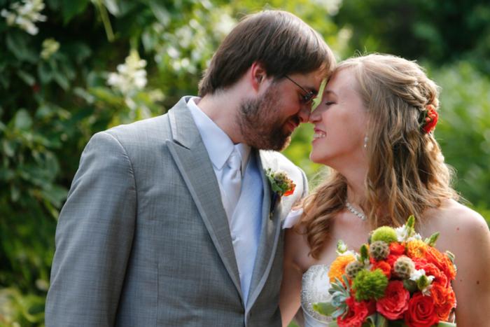 Powell Gardens wedding Kansas City