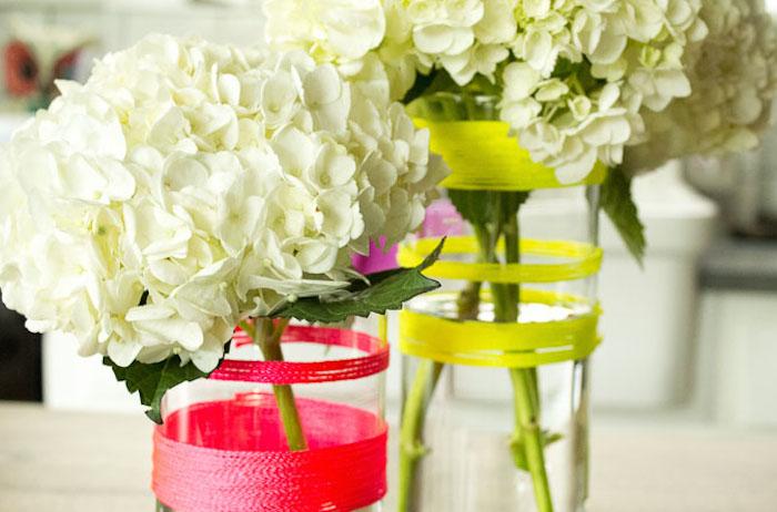 White-hydrangea-and-neon