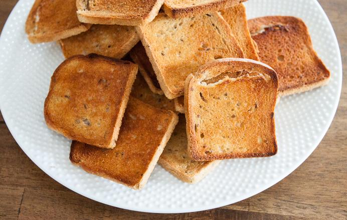 Mini-rye-bread