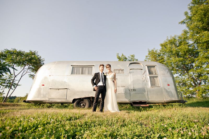 Wedding airstream