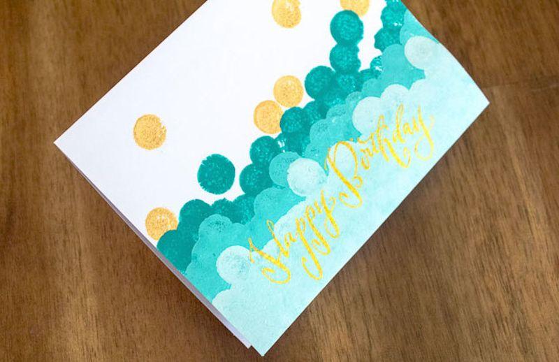 Hand-made-birthday-card