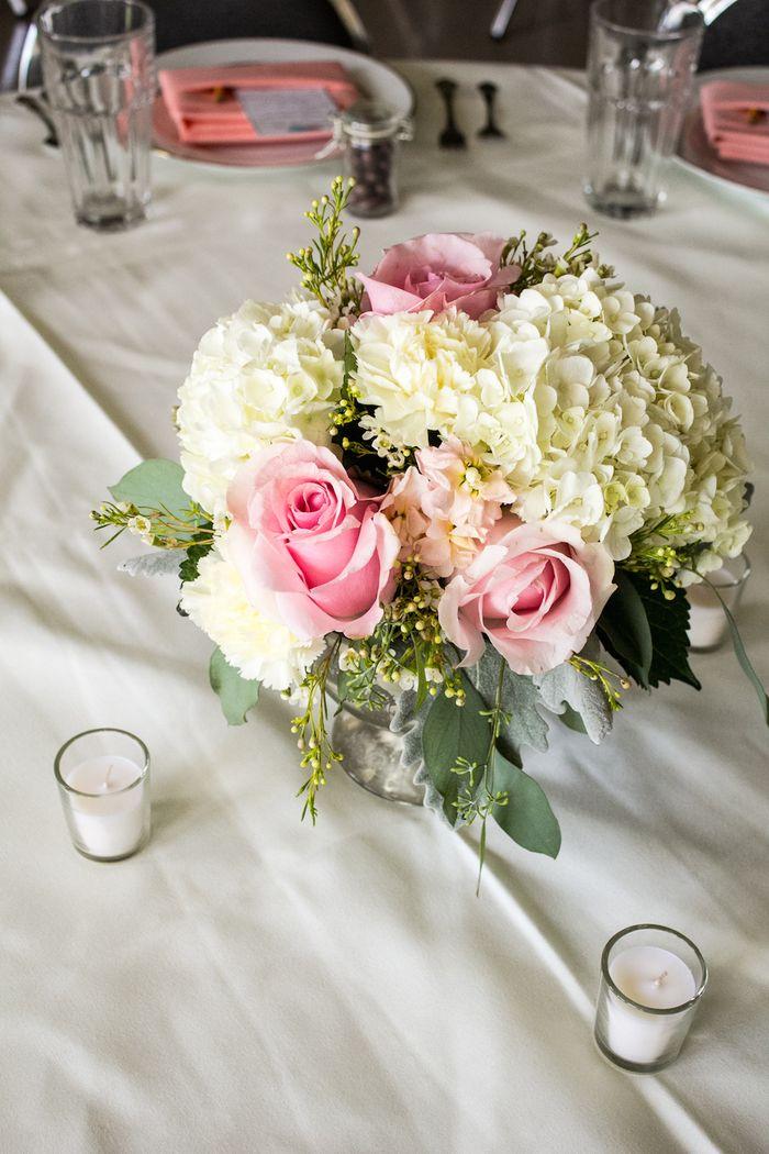 Blush roses