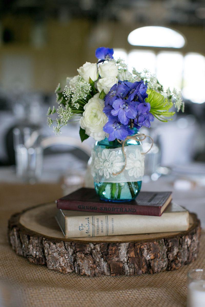 Book-and-mason-jar-centerpiece