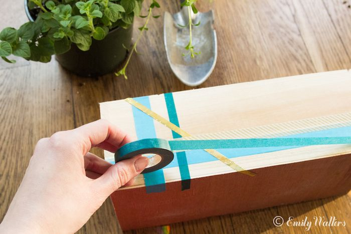 Wooden-planters-and-washi-tape