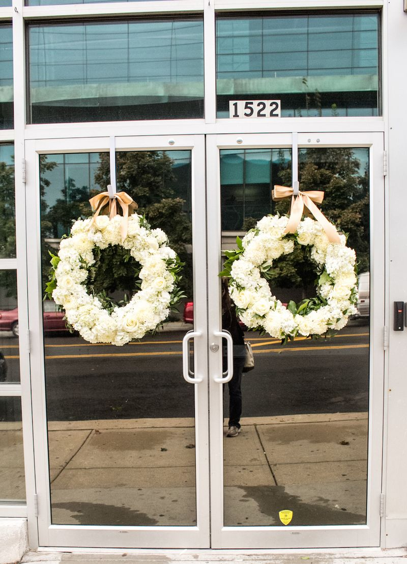 White-floral-wreaths
