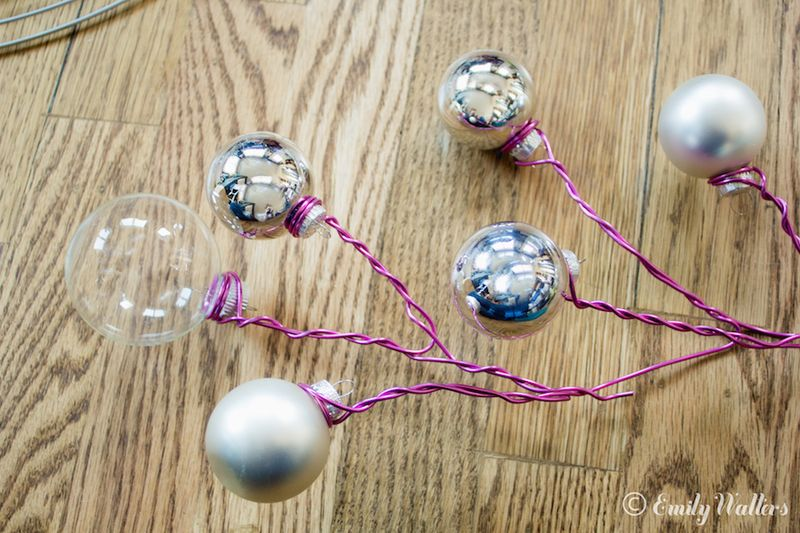Clear-and-silver-ornament-wreath