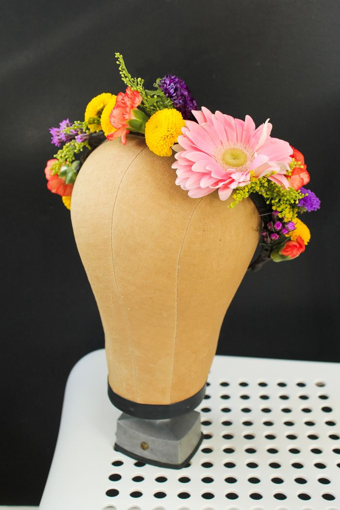 Floral crown diy-15
