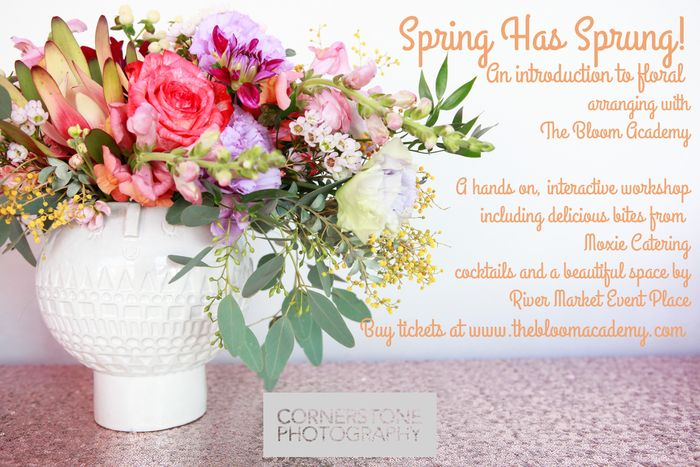 Spring workshop flyer