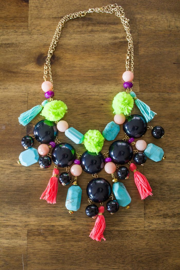 Pom-pom-and-tassel-necklace