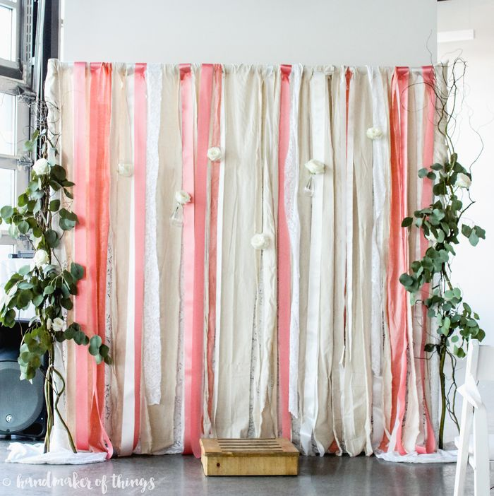 Cheap Wedding Backdrop Ideas