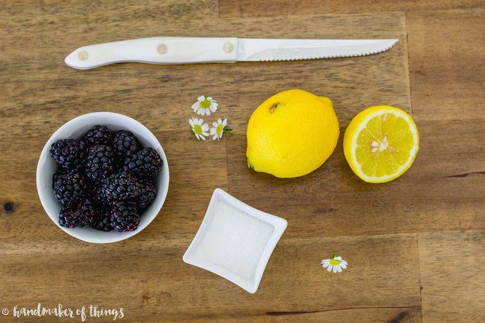 Blackberry shandy recipe
