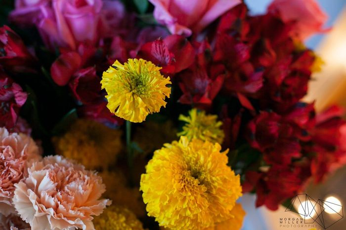 Marigolds-and-summer-flowers