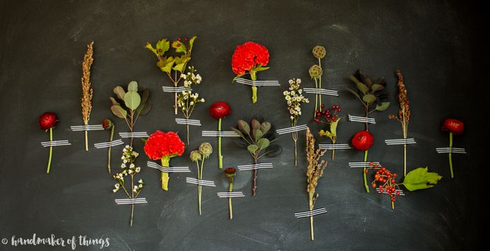 Fall floral wall diy-6
