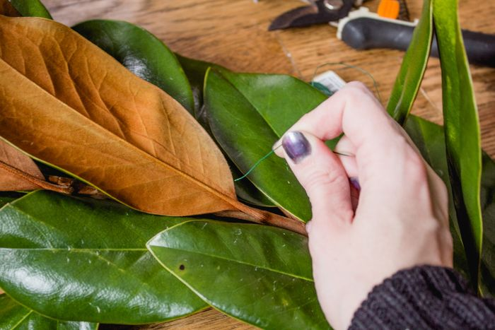 Magnolia garland-8