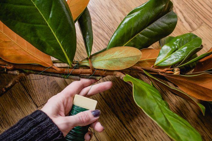 Magnolia garland-12