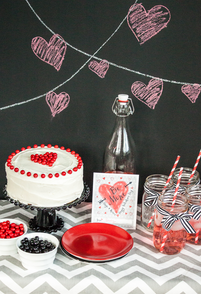 Modern Valentine's Day Party