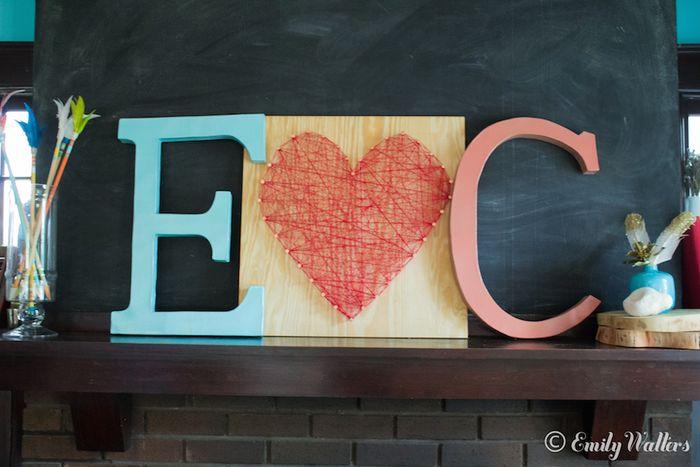 Colorful-letter-decor