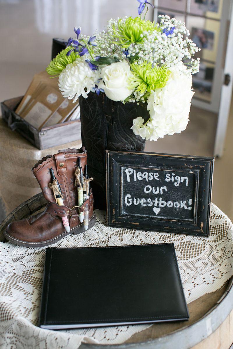Cowboy-boot-wedding-decor