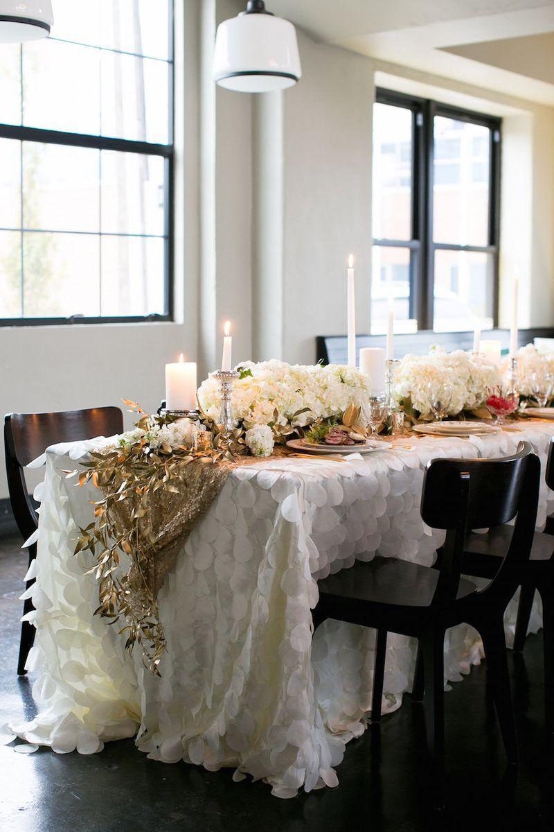 White-ruffled-table-linens