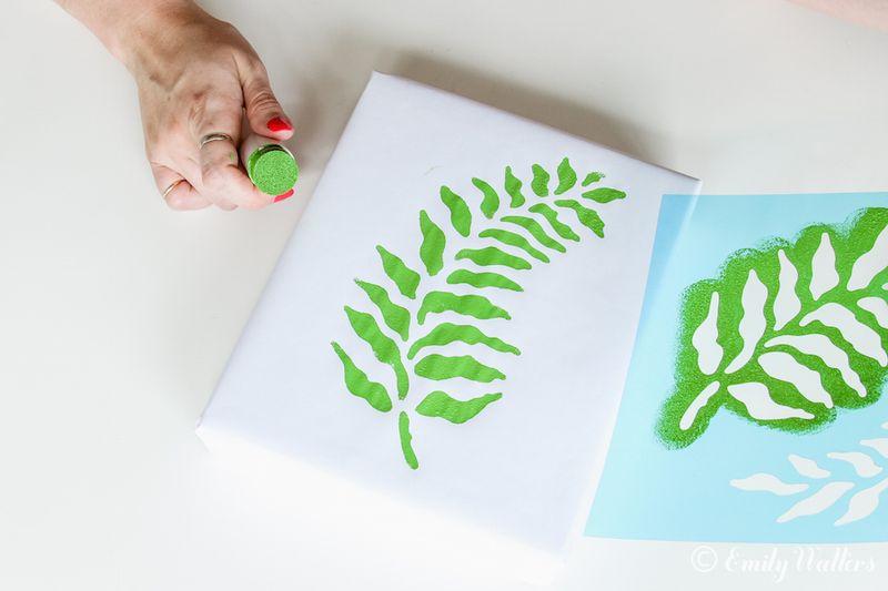 Leaf-stencil