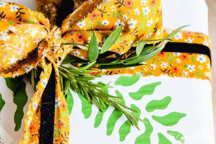 Greenery-and-gift-wrap