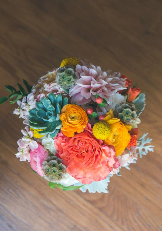 succulent-and-billy-ball-bouquet