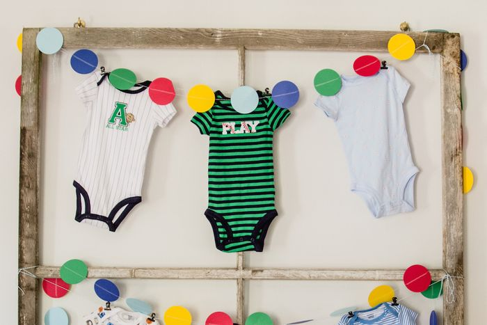 Baseball-themed-baby-onesies