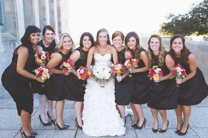 Black-bridesmaids-dresses